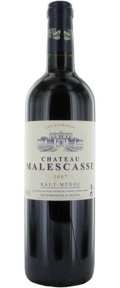 Château Malescasse 2007 / Un vin souple et charmant, soyeux, avec des tannins un peu fermes.    En savoir plus : http://avis-vin.lefigaro.fr/vins-champagne/bordeaux/medoc/haut-medoc/d12855-chateau-malescasse/v12856-chateau-malescasse/vin-rouge/2007##ixzz2Gv0qbuDn