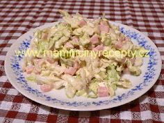 + 79 Lahůdkový salát Ham, Potato Salad, Cabbage, Salads, Food And Drink, Potatoes, Vegetables, Ethnic Recipes, Potato
