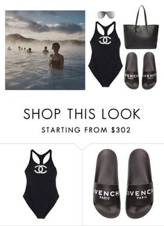 """""""vacations"""" by jenniferfls ❤ liked on Polyvore featuring Chanel, Givenchy and Yves Saint Laurent"""
