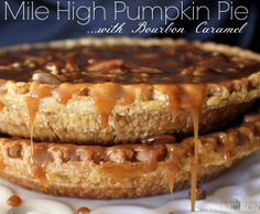 ~Mile High Pumpkin Pie!