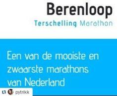 #Repost @pytrikk with @repostapp  Geen weg terug alleen maar vooruit! Het spannendste en mooiste doel van mijn reis naar een fit lijf de halve marathon op het paradijs #terschelling #berenloop #doodeng