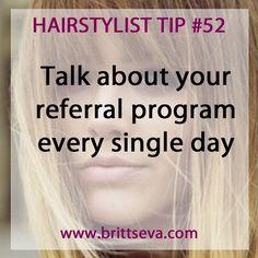 Hairstylist Tip #52