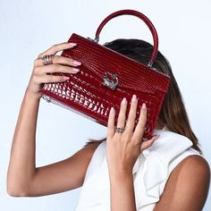 Signature Collection, Crocodile, Shoulder Bag, Celebrities, Leather, Bags, Style, Fashion, Handbags