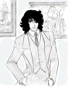 André Grandier in modern clothes---Kodemari art