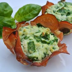 Mom, What's For Dinner?: Prosciutto Cups gluten free appetizer