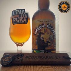 Uma mais forte pro nosso #cevadapuraweek!  ___ A Belgian Tripel da @cevadapura é justa ao seu estilo e me proporcionou uma experiência muito agradável com sua complexidade e seu elevado teor alcoólico. Saúde meus amigos! ___ #beerporn #instadrunk #ratebeer #beergasm #pornbeer #confraria27 #birra #bier #beer #cerveja #breja #biere #cerveza #bebalocal #cevadapura #irishredale #bebomelhor #cervejaartesanal #cervejaespecial #cervejadeverdade #craftbeerporn #instabeer #beergram…