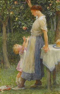 Temptation~ Sir Frank Dicksee 1895