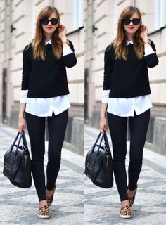 T: calça, camisa C: cropedd, bolsa, sapatilha oncinha