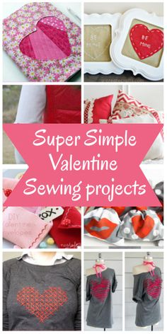 diy home sweet home: Sew Something Special for Valentine's Day