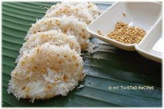 Easy-to-follow Palitaw Recipe http://www.kusinamasterrecipes.com/palitaw/