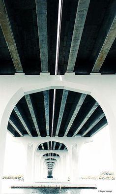 Big Fan of Bridges by Roger Wedegis #rogerwedegis #bridges