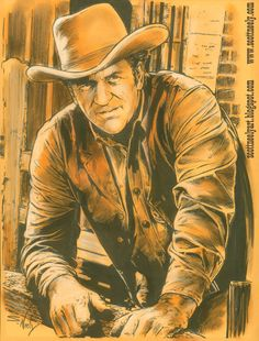 Scott Neely's Scribbles and Sketches!: A Tribute To JAMES ARNESS ...