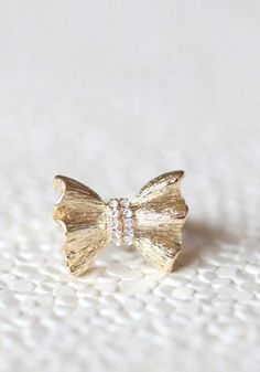 #Ruche                    #ring                     #cheri #ring              mon cheri bow ring                                  http://www.seapai.com/product.aspx?PID=491928
