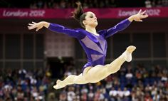 """Lauren Collins on Olympic gymnast Jordyn Wieber's exclusion from the individual all-around final: """"Wieber's elimination wasn't a """"travesty,"""" as Béla Károlyi called it, or an """"injustice,"""" as her coach John Geddert complained; it was the Olympics."""" http://nyr.kr/M6DADF (Photograph by Gregory Bull/AP Photo.)"""