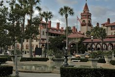 St. Augustine, FL. Went here a couple times. Camping trip on the beach when I was young and a girls road trip with my mom the year she past away.
