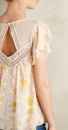 Fluttered Flores Blouse - anthropologie.com