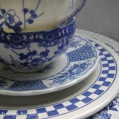 L. - Jolijn: Blauw-wit Servies!