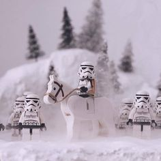 """""""Winter has come.""""  Congratulations to the LEGO HUB Photographer of the Day: . ..."""