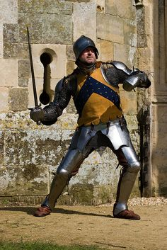 Body shot, 15th Century armor
