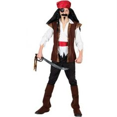 what a cute Pirate costume  for boys to wear this halloween! follow the link to view other available Pirate Fancy Dress Costumes for kids and grown ups as well Boys Pirate Costume, Pirate Fancy Dress, Halloween Costumes, Wonder Woman, Superhero, My Style, Link, Fun Stuff, Cute