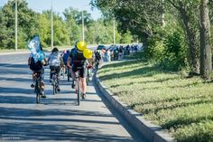 Велосипедная свадьба в Тольятти