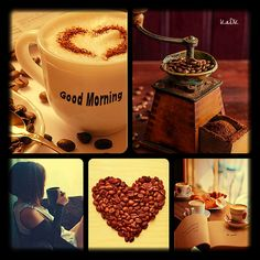 Good morning - Collage made by KaDK's World - https://www.pinterest.com/k5606/kadks-world-of-collages-and-moodboards/