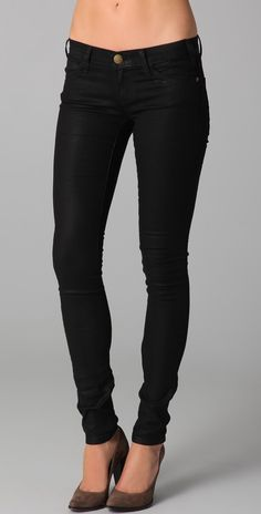 Current/Elliott | Coated Skinny Jean