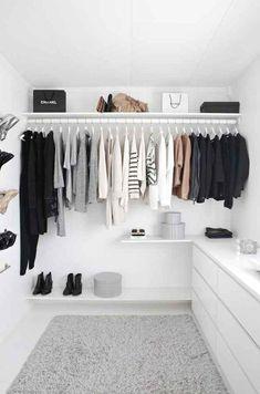 Ideas Clothes Closet Diy Walk In