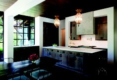 Natural looking kitchen featuring Decore cabinet doors