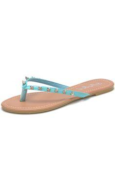 Spiked Studded Flip-Flops Thongs Sandals $21.99