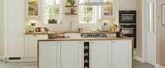 NEW Burford Grained Antique White kitchen