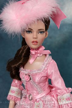 Anne de Legere Basic Brunette & Ma petite rose outfit