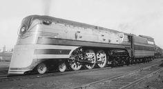 Richard Leonard's Random Steam Photo Collection -- Milwaukee Road 4-6-4 104