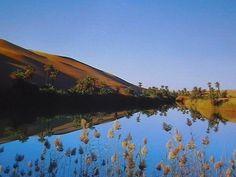 """""""Il lago di Umm al Maa"""" del turistapercaso Cesama (Libya)"""