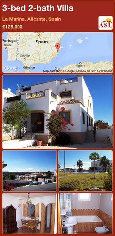3-bed 2-bath Villa in La Marina, Alicante, Spain ►€125,000 #PropertyForSaleInSpain