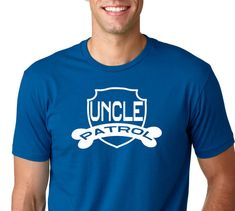 UNCLE PATROL Tee Shirt funny shirt.Dad Shirt by ForeverTees1