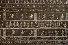sarcophage de Djedhor (détail) , IVe siècle avt J-C, grauwacke, Louvre (D9)