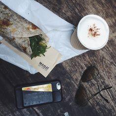 Fast slow food @manafastslowfood in #hongkong - #Mujjo wallet case - @Rayban shades - By co-founder @remynagelmaeker