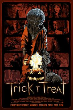 Trick 'r Treat, Michael Dougherty, Halloween, movie poster