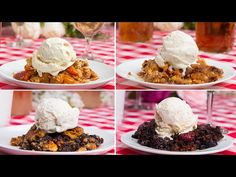 Easy Skillet Cobbler 4 Ways - YouTube