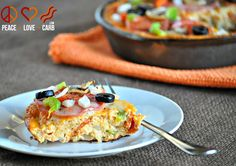 """""""Pizza Frittata - Low Carb, Gluten-Free"""" 