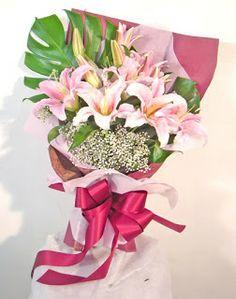 Bunga Lily Casablanca di Jakarta