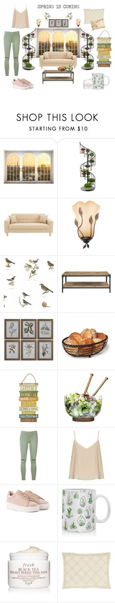 """""""Complement with your life style"""" by teresa-mt on Polyvore featuring moda, WALL, Uttermost, Sagaform, Joe's Jeans, Raey, DENY Designs, Fresh, Surya y Ralph Lauren"""