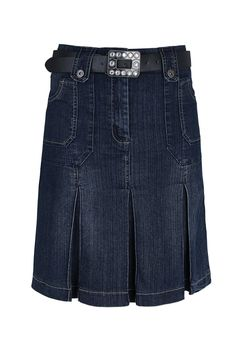b95a743e4e64 WomensBest Damen Jeans Rock Strassbourg 36, blue black  Amazon.de   Bekleidung