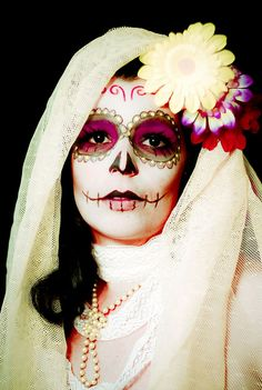Day of the dead by Lili da Rocha, via Flickr