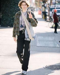 Teen Boy Fashion, Big Men Fashion, Urban Fashion, Winter Fashion, Fashion Outfits, Street Fashion, Soft Grunge Outfits, Look Man, Simple Outfits