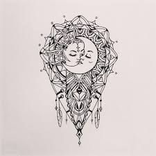 Resultado de imagen para el sol y la luna mandalas