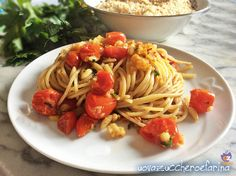 """Gli """"spaghetti integrali al profumo di finocchio"""" sono una ricetta di Laura Ravaioli del Gambero Rosso; ottimi per la spaghettata di mezzanotte in compagnia"""