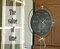 My New Clock or How I Get My Children to Do Things for Me - The Pennington Point