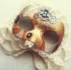 Steampunk Mask by NBetween.deviantart.com